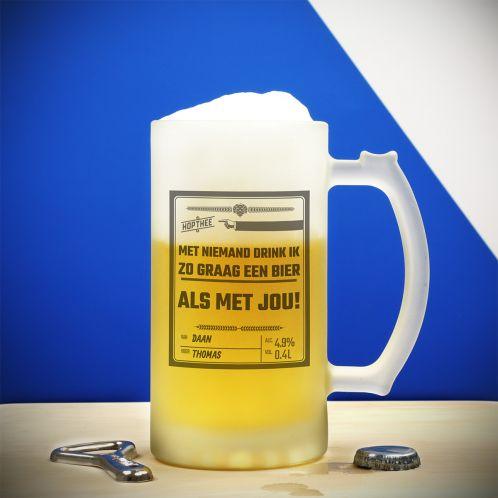 Personaliseerbare bierpul