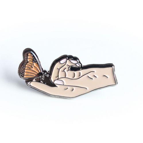 Vlinder pin