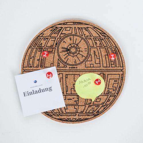 Verjaardagscadeau - Star Wars Deathstar pinbord