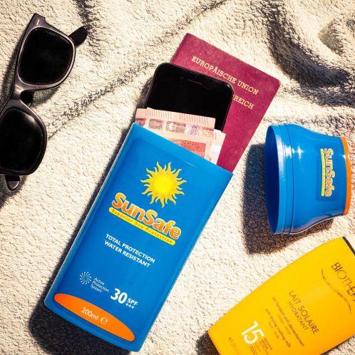 Cadeau idee - Sun Safe opberging