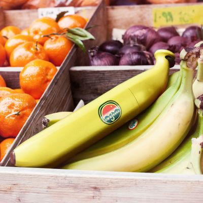 Bananen Regenschirm