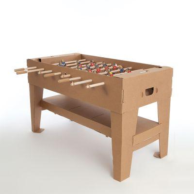Tischfußball Set aus Karton