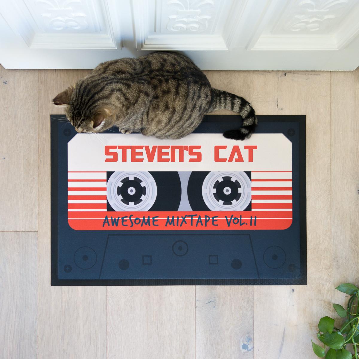 Personaliseerbare deurmat Mixtape