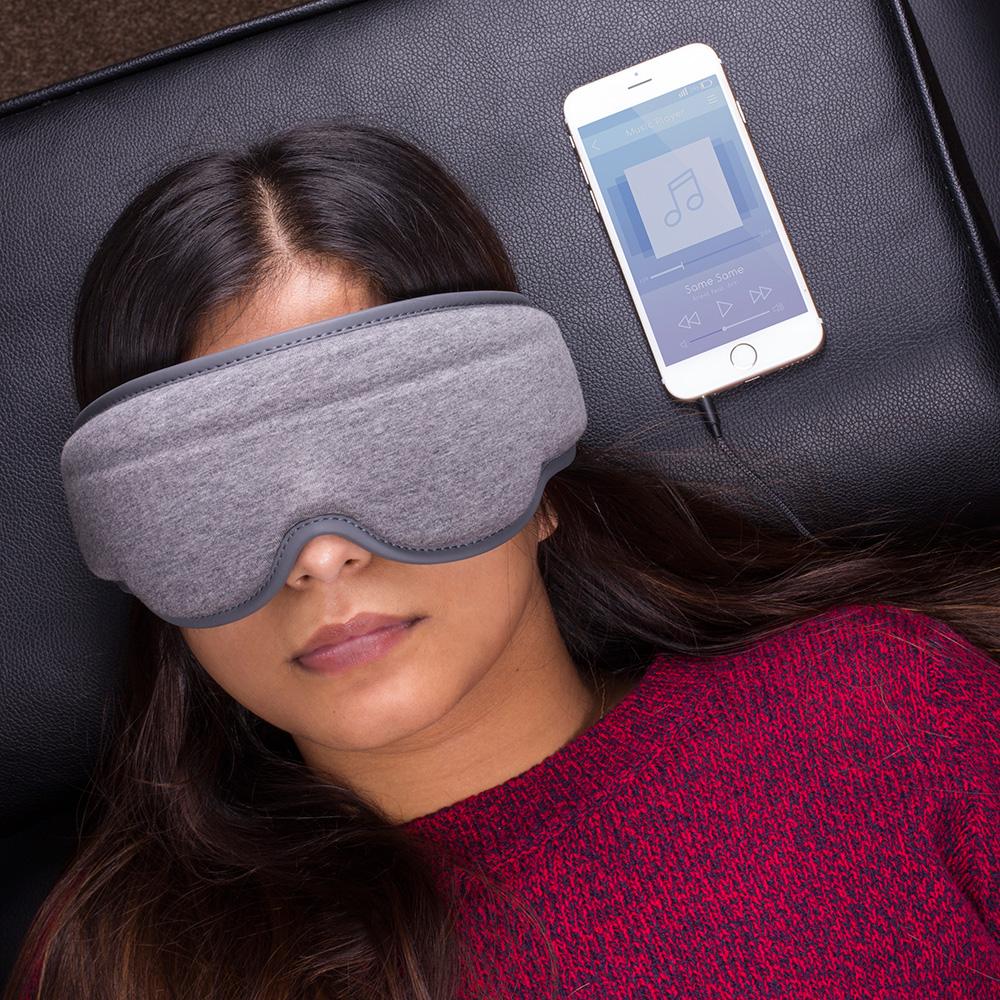 Slaapmasker met ge�ntegreerde koptelefoon